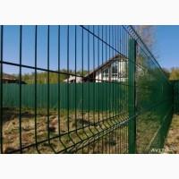 Купить забор 3D для дачи из сварной сетки и проволоки секционный