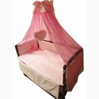 АКЦИЯ!!! Детское постельное с балдахином 8 элементов