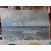 Продам советскую живопись, пейзаж Море Виктора Пузырькова