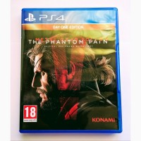 Metal Gear Solid V The Phantom Pain MGS 5 PS4 диск / РУС версия