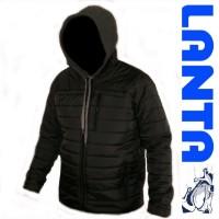 Мужская стеганная куртка осень-весна с капюшоном код 133к- S100