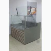 Новая витрина холодильная универсальная Cube-P длинной 1.3 метра -5+5 С