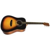 Электроакустическая гитара RAFAGA HD60E VS с пьезодатчиком Cherub GT-3