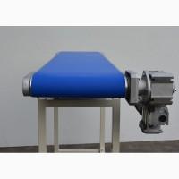 Конвейерная лента из ПВХ Nonex EF А18 для удлиненных участков, светло-синим покрытием