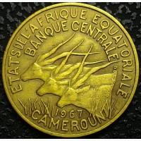 Французский Камерун 10 франков 1967 год СОХРАН