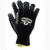 Перчатки антивибрационные Vibraton черные