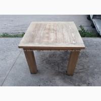 Стол деревянный б/у 1000х1000, мебель деревянная в кафе бары рестораны