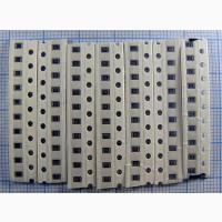 За 150 Грн. продаётся набор SMD резисторов 0805 0.125вт 5% 105 номиналов по 10 шт