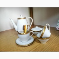 Продам недорого немецкий СТАРИННЫЙ сервиз из костяного фарфора для кофе