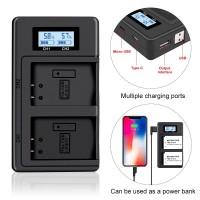 Двойное скоростное Зарядное устройство для CANON LP-E17 от USB