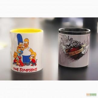 Печать на чашках от 10 шт