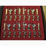 Шахматные фигурки из бронзы