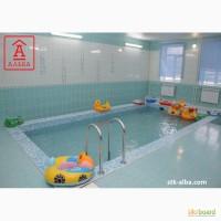 Оборудование бассейна в детском саду, школе в городе Киеве