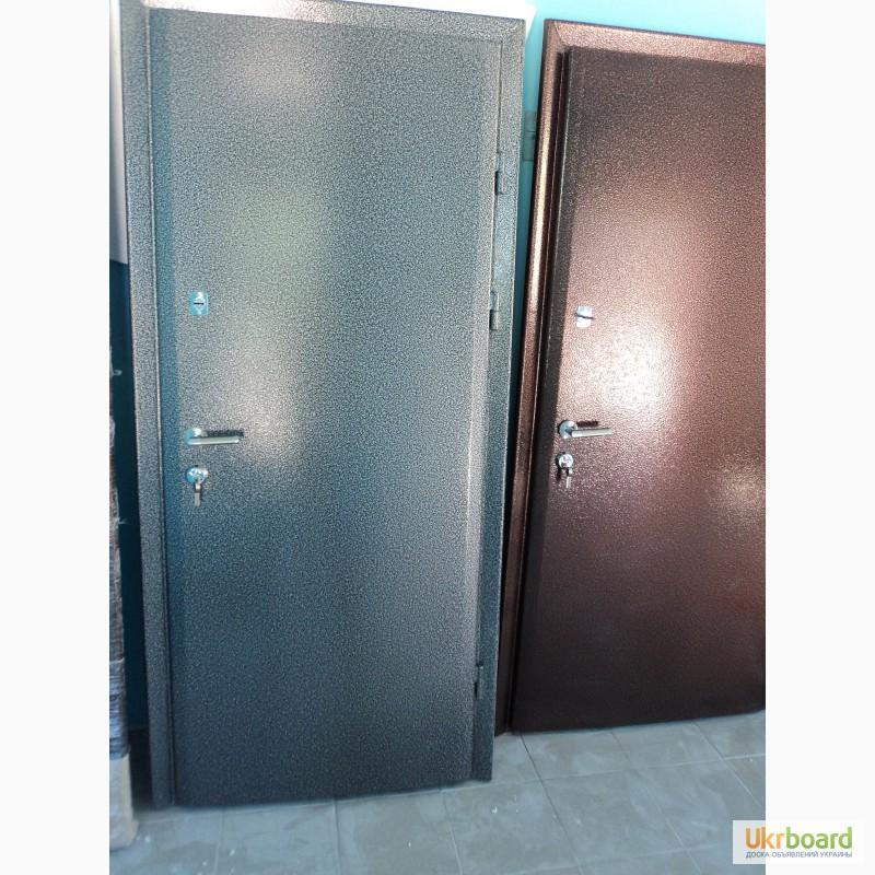 Двери металлические готовые