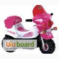 Детский электромобиль мотоцикл Baby Tilly BT-BOC-0013 PINK-WHITE