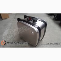 Бак гидравлический (гидробак) бокового крепления 160 л алюминиевый (63х44х70)