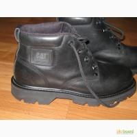 Стильные кожаные ботинки Caterpillar (CAT Diesel Power) (оригинал), размер 39 (25,5 см)