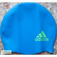 Шапочка для плавания детская Adidas Logo E44341 голубая