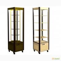 Кондитерский холодильный шкаф-витрина Carboma R400C/вр