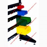 Стеллажи для метизов Киев металлические складские стеллажи с ящиками в Киеве