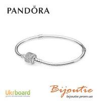 Браслет Pandora 8213; серебро 925 проба оригинал - 590723CZ