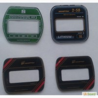 Маска ( стекломаска ) к часам Электроника Интеграл Камертон (Lithium) разные, дёшево