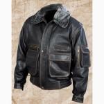 Демисезонная мужская кожаная куртка Полиция 11