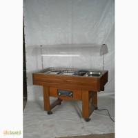Шведский стол для гостиниц, столовых.Tecfrigo холодильные и тепловые в хорошем состоянии