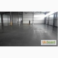 Промышленные бетонные полы. Топпинг