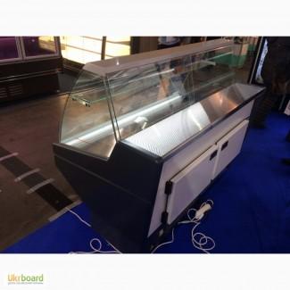 Витрина холодильная Ника 1.6 метра -2+8 С новая со склада в Киеве