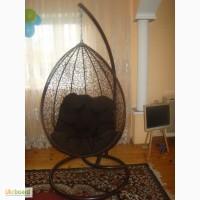 Садові підвісні крісла крапля