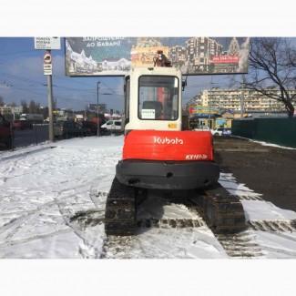 Мини экскаватор Kubota KX161-3