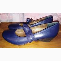 Кожаные туфли Riva, 39-40р