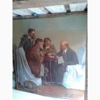 Продам копию картины, которая называется «Ходоки у Ленина»