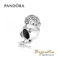 PANDORA шарм DISNEY ―птичка белоснежки #797166CZ