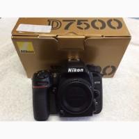 Nikon D7500 Цифровая зеркальная фотокамера (только корпус)