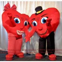 Надувний костюм на день Святого Валентина