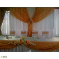 Накидка на стул,аренда свадебного декора в Киеве