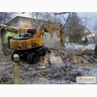 Демонтажные работы демонтаж домов стен