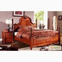Элитная деревянная мебель для спальни, Кровать Графиня