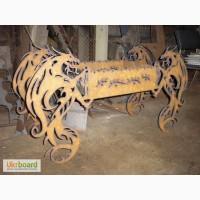 Декоративный раскладной мангал Драконы большие