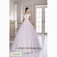 Восхитительное свадебное платье А-силуэта