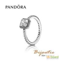 Оригинал Pandora кольцо вечная классика 190947CZ