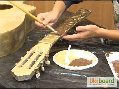 Реставрация акустической гитары своими руками 4