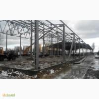 Строительство ангаров, складов, зернохранилищ напольного хранения