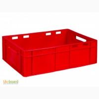 Пищевой пластиковый ящик 600х400х190