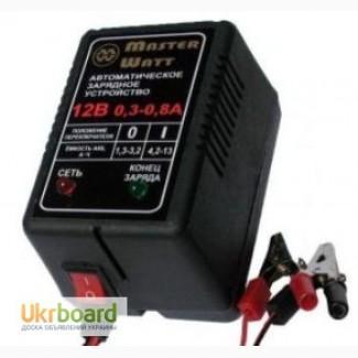 Зарядне 12/6В для акумуляторів до ехолота, дитячого електромобіля машин, мотоциклів