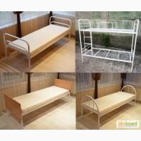 Металеві ліжка. Двоярусні ліжка