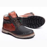 Ботинки кожаные Wrangler Arizona Brown