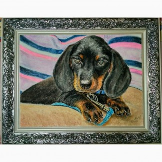 Картина автораСоня-пастель, 37х25